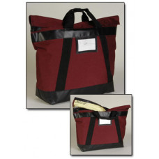 "Charnstrom Mail Room Supplies 23""W x 16""H Fire Resistant Bank Mail Bag"