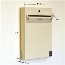 Low Profile Steel Wall Mount Drop Box