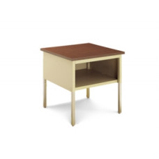 "Mailroom Corner Adjustable Table 30""W x 30""D Standard Table With Lower Shelf"
