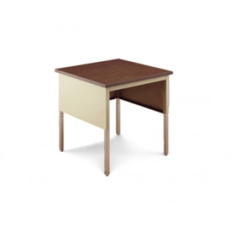 "Mailroom Corner Table 30""W x 30""D Standard Open Adjustable Height Table"