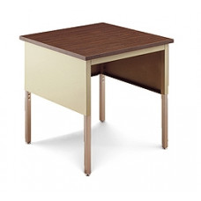 "Mail Room and Office Adjustable Table 36""W x 36""D Standard Open Table"