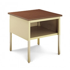"""Mail Room and Office Table 36""""W x 36""""D Standard Adjustable Table With Lower Shelf"""