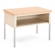 """Mail Room and Office Table 48""""W x 36""""D Standard Adjustable Height Table With Lower Shelf"""