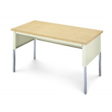 "Mailroom Furniture Table 60""W x 30""D Standard Open Adjustable Table"