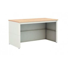 """Sturdy Mail Room Office Table 72""""W x 30""""D Extra Deep Adjsuatble Open Storage Table"""