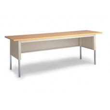 "Adjustable Mail Room or Office Table 84""W x 30""D Standard Open Table"