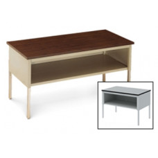 "Mail Room and Office Furniture Table 60""W x 36""D Standard Adjustable Height Table With Lower Shelf"