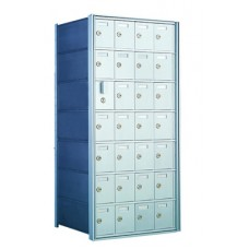 Mailboxes for Commercial or Private Use 27 Door Front Loading Mailbox Cluster with Master Door - Complete!!
