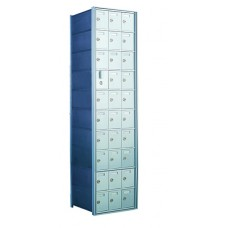 Commercial and Residential Mailboxes 29 Door Front Loading Mailbox Cluster with Master Door - Complete!!