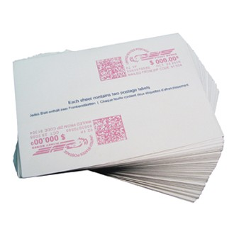 3 Pack Double Strip Postal Labels Replaces Pitney Bowes 620-9, 612-9, 612-7, 612-0.