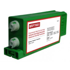 Fluorescent Red Ink Cartridge Replaces Pitney Bowes 766-8, 767-8.