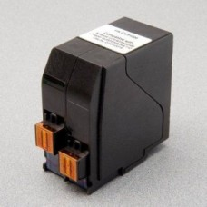 Fluorescent Red Ink Cartridge Replaces Neopost IJINK3456H/4105243U.