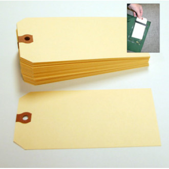 "Mail Room Supplies Address Card for Mailbag Plastic Window (2-7/8""W x 5-3/4""L)"