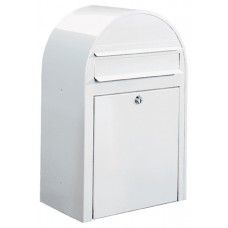 """Close-Out Special"" White Contemporary Mailbox (Only One Left!)"