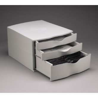 Special $9.95 Stackable Three Drawer Records Box