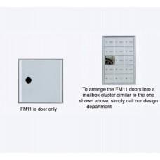 "4""W x 5""H Front Loading Mailbox Cluster Door - 15-1/2""D"