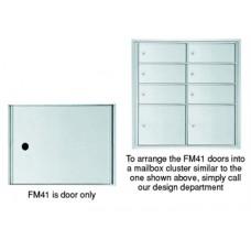 "12""W x 10""H Front Loading Mailbox Cluster Door - 15-1/2""D"