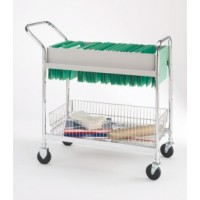 Economy Hanging Folder Mail Cart