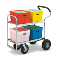Mail Room and Office Carts Ergo Tote Mail Cart