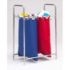 Charnstrom Mailroom Supplies Stationary 2 Bag Holder, Mailbag Rack