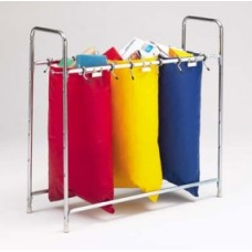 Stationary 3 Bag Holder, Mailbag Rack