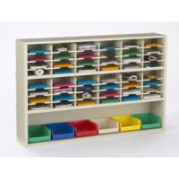 "Mail Room Furniture 72""W X 12 3/4""D- 48 Pockets 11- 1/2"" Wide"