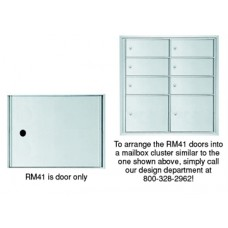 "Mailboxes Commercial and Residential 12""W x 10""H, Rear Loading Mailbox Door (One Door Only)"
