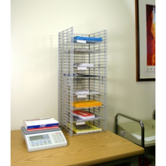 "Mail Room Sorters and Office organizers 8 Pocket Wire Desk Top Organizer - 15""D - FREE Quantity Shipping!"
