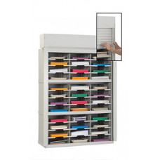 "Mail Room Security Sorter-36""W - 36 Pockets, 12-3/4"" Depths"