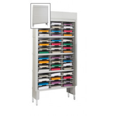 "Mail Room Security Sorters and Secure Office Organizers-36""W Security Mail Sorter, 48 Pockets, 12-3/4"" or 15-3/4"" Depths"