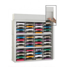 "Mail Room Security Sorters and Secure Office Organizers-48""W Security Mailroom Sorter, 48 Pockets, 12-3/4""  Deep"