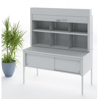 """Mailroom Security Sorters and Secure Office Organizers - 60""""W Security Storage Cabinet 12-3/4"""", 15-3/4"""" or 17"""" Depth"""