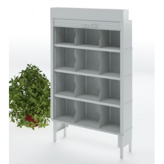 """Mailroom Security Sorters and Secure Office Organizers - 48""""W Security Mailroom Cabinet,12-3/4"""" or 15-3/4"""" Depth"""