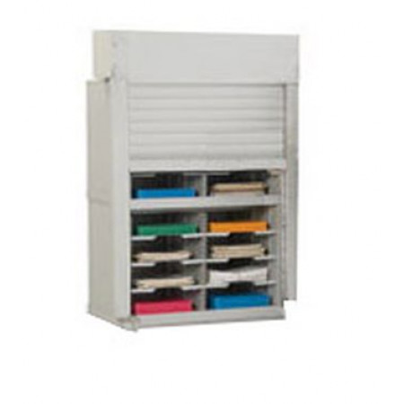 Mailroom Security Sorters And Secure Office Organizers 28 W Mail Sorter 16