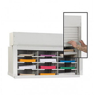 "36""W Security Mail Sorter, 12 Pockets, 12-3/4"" Deep"