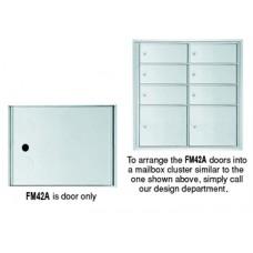 "8""W x 10-3/8""H Front Loading Mailbox Cluster Door - 15-1/2""D"
