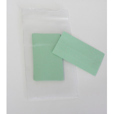 Shelf Identification Light Green Paper Inserts (for Model L10 and L22 Plastic Shelf Labels)