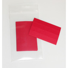 Mail Shelf Identification Red Paper Inserts (for Model L20 Plastic Shelf Labels)