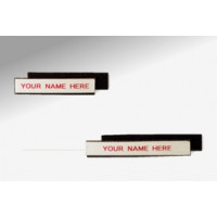 "3""W x 1/2""H Velcro Backed, Removable Shelf Label (Package of 25)"