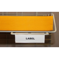 Shelf Identification Hook-on Wire Shelf Labels (25 Pack)