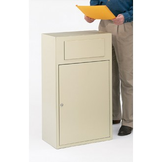 Mail Room and Office Mailing Supplies Mail Collection Slim-Line Drop Box