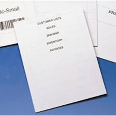 "Label Inserts 600 Paper Inserts and Instruction Sheet for 1-3/4""H Labels"