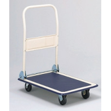 "Mail Room Carts and Supplies Deluxe Office Platform Truck With 5"" Casters"
