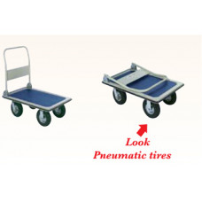 """Office Platform Truck with 8"""" Casters"""
