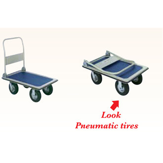 "Office Platform Truck with 8"" Casters"
