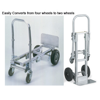 Mail Room and Office Carts Compact Heavy Duty Package and Office Cart