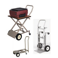 Office and Mail Room Carts Three in One Office Caddy Cart
