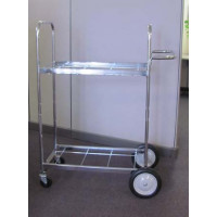 Medium Double-Decker Mail Delivery Cart Frame