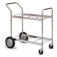 Medium, Double-Decker Frame Mail Cart