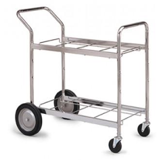 Medium, Double-Decker Frame Mail Cart